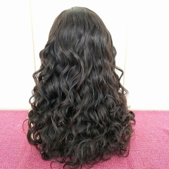 150% Density Loose Wavy Full Lace Human Hair Wigs With Baby Hair Pre Plucked Sidary Hair For Black Women