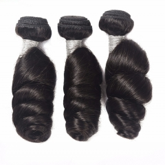 Sidary Hair Natural 3Bundles Loose Wave Virgin Human Hair Weft