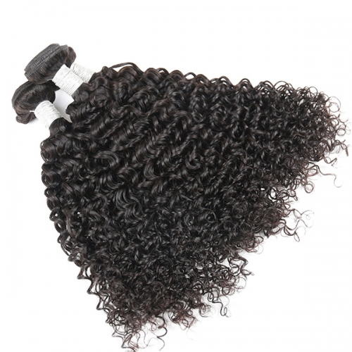 Sidary Hair Kinky Curly & Jerry Curly Weave Human Hair 3 Bundles Virgin Hair Natural Color 8-30inch
