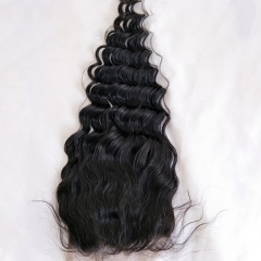 Sidary Hair Lace Closure 6x6 Loose Deep Wave 100% Human hair 10-20 Natural Hairline Virgin Hair