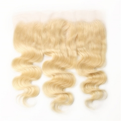 Sidary Hair 613 Blonde Pure 13x4 Ear To Ear Lace Frontal Virgin Human Hair Body Wave Lace Frontal