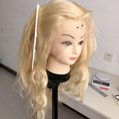 Sidary 613 Blonde Wig 360 Human Hair Lace Front Wigs Natural Wave Pre-Plucked Hairline Human Hair Wigs with Baby Hair