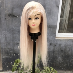 Sidary Silver Human Hair Full Lace Wig/ 130% Density Silver Wig