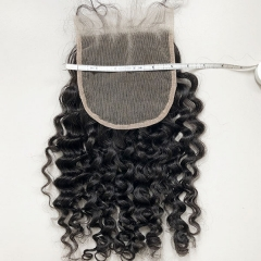 Sidary Jerry Curly Human Hair Lace Closure 5x5 Virgin Hair Curly Closure Piece