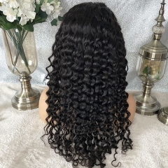 Transparent Pre Plucked 5x5 Closure Lace Front Wigs Human Hair Wave Curly 5*5 Lace Closure Wigs