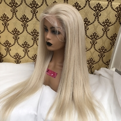 Sidary Hair Colored Human Hair Wigs Full Lace Wig for Women with Baby Hair