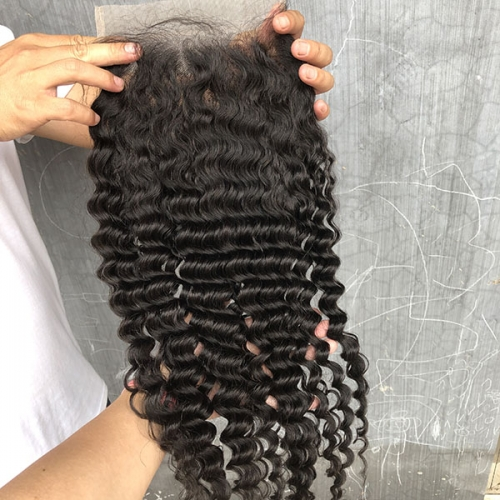 7x7 Lace Closure,Best Lace Closures,Cheap Deep Curly Closure Tight Deep Wave Lace Closure