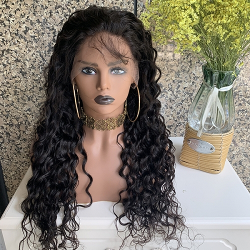 Sidary Human Hair Wigs Natural Looking Spanish Wave Full Lace Wigs for Black Women