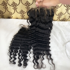 DEEP WAVE LACE CLOSURE (6X6 HD LACE) SIDARY 6x6 HD LACE HUMAN HAIR CLOSURE PIECES